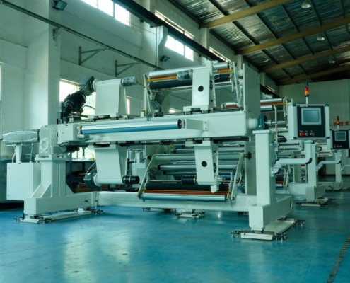 Equipment at Faustel Xiamen